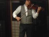 漆のバイオリン