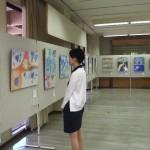 28回美術連盟展(ザベリオ高校)