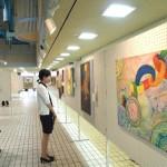 28回美術連盟展(学鳳高校)