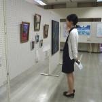 28回美術連盟展(葵高校)