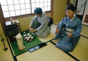 彩り茶会 煎茶道方円流